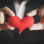 Image of hands holding heart