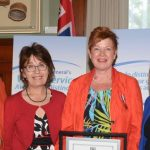 Madeleine Meilleur Liz Sandals FCSSGW Award of Distinction
