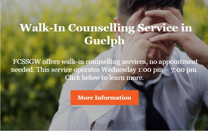 Walk In Counselling Service
