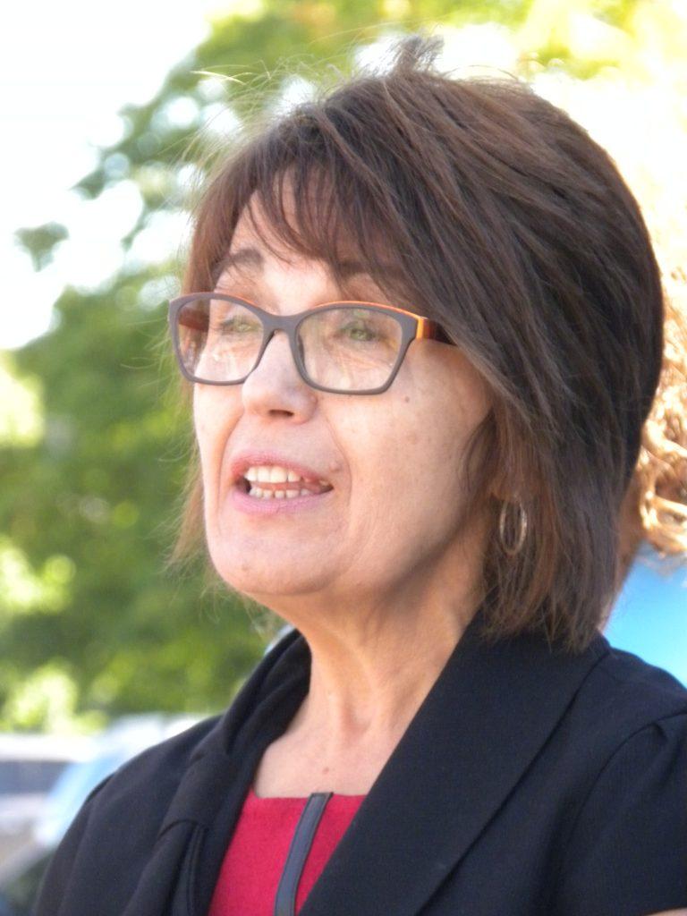 FCSSGW Board President Sandra Ellis